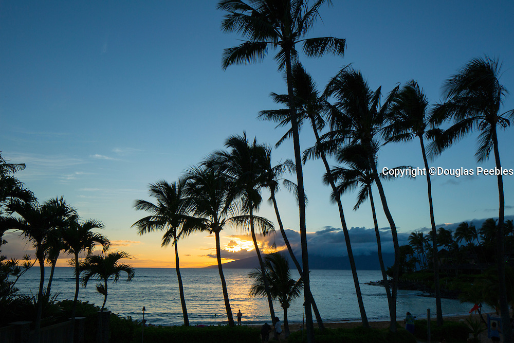 Sunset, Napili Beach, Maui, Hawaii