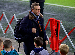 SWANSEA, WALES - Monday, January 22, 2018: Swansea City's new manager Carlos Carvalhal before the FA Premier League match between Swansea City FC and Liverpool FC at the Liberty Stadium. (Pic by David Rawcliffe/Propaganda)