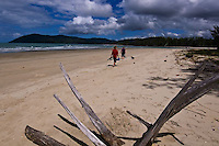 The coastal and rain forest areas of tropical North Queensland