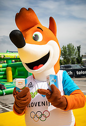 Foksi, Igrajmo tenis, Teniska olimpijada 2019, on May 19, 2019, in BTC, Ljubljana, Slovenia. Photo by Vid Ponikvar / Sportida