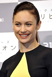 59613073.Olga Kurylenko at the Press conference to Oblivion in Hotel Ritz Carlton Tokyo, Japan, May 7, 2013. Photo by:  imago / i-Images.UK ONLY