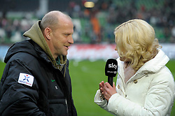 "28.01.2012, Weserstadion, Bremen, GER, 1. FBL, Werder Bremen vs Bayer04 Leverkusen, 19. Spieltag, im Bild Thomas SCHAAF, Trainer von Werder Bremen, im Interview bei Sky // during the football match of the german ""Bundesliga"", 19th round, between Werder Bremen and Bayer04 Leverkusen, at the Weserstadion, Bremen, Germany on 2012/01/28. EXPA Pictures © 2012, PhotoCredit: EXPA/ Eibner/ Stefan Schmidbauer..***** ATTENTION - OUT OF GER *****"