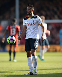 Mousa Dembele of Tottenham Hotspur - Mandatory by-line: Alex James/JMP - 22/10/2016 - FOOTBALL - Vitality Stadium - Bournemouth, England - AFC Bournemouth v Tottenham Hotspur - Premier League