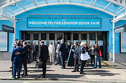 © Licensed to London News Pictures. 12/04/2016.  Lord Jeffrey Archer attends The London Book Fair. London, UK. Photo credit: Ray Tang/LNP