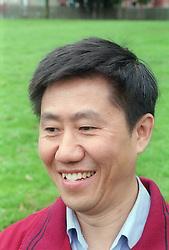 Portrait of a man; smiling,