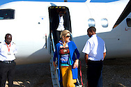 10-12-2013 - ETHIOPIA - HAWASSA - Arrival  at the Hawassa Airport in Ethiopia of Queen Maxima of the Netherlands. Her Majesty Queen Máxima United Nations Secretary-Geneneral's Special Advocate for Inclusive Finance for Development will visit 5 days ethiopia and tanzania. Her Majesty Queen Máxima visits in her capacity as a special advocate of the Secretary-General of the United Nations in the field of inclusive finance for development (inclusive finance for development) Ethiopia and Tanzania from Monday 9 to Friday, December 13, 2013. COPYRIGHT ROBIN UTRECHT