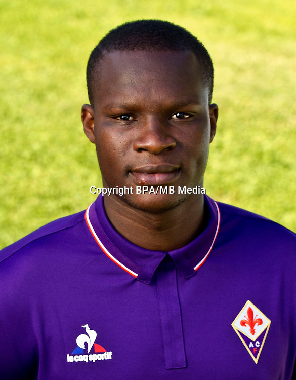 Italian League Serie A -2016-2017 / <br /> ( ACF Fiorentina ) - <br /> Khouma El Hadji Babacar &quot; Khouma Babacar &quot;