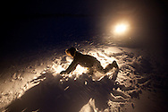 ice fishing in Finland