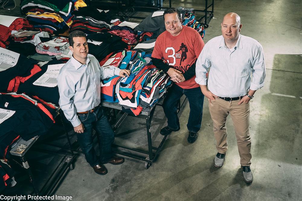 Airwaves Inc. co-owners (from left) COO Michael Leaventon, CFO Daniel Kaiser, CEO Kyler Kantner.