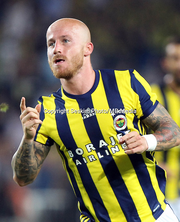 UEFA Europa league Playoff first leg match between Fenerbahce and Grasshoppers at Ulker Stadium in Istanbul on August 18 , 2016.<br /> Final Score : Fenerbahce 3 - Grasshoppers 0<br /> Pictured:  Miroslav Stoch of Fenerbahce.