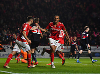Football - 2018 / 2019 EFL Sky Bet League One - Play-Off Semi-Final, Second Leg: Charlton Athletic (2) vs. Doncaster Rovers (1)<br /> <br /> Charlton Athletic's Darren Pratley celebrates scoring his side's second goal in the hundred and first minute, at The Valley.<br /> <br /> COLORSPORT/ASHLEY WESTERN