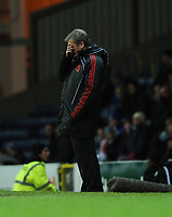 Roy Hodgson Manager can't bear to watch after Blackburn's 3rd goal<br />