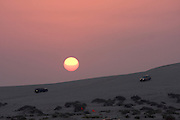 Favourite Friday night pastime: dune bashing in the desert near the Saudi border.