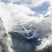 Waking up Machu Picchu