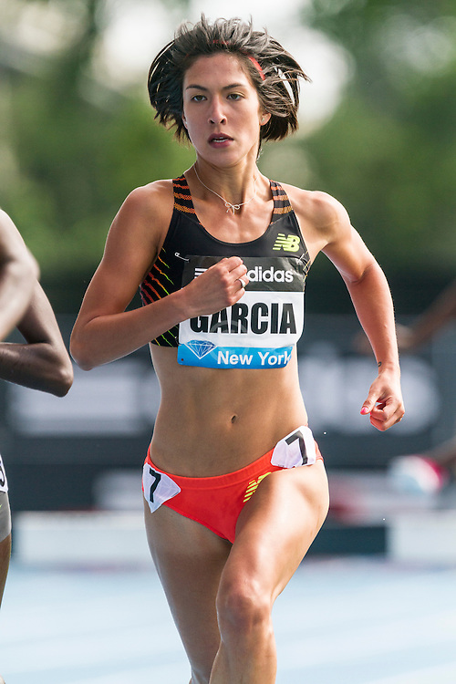 women's 3000 meter steeplechase, Stephanie Garcia, adidas Grand Prix Diamond League track and field meet