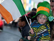 17/03/2013 Ryan Casey from Clare at the Galway St Patrick's Day Parade.Picture:Andrew Downes.