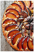 SPECTRUM/NICK NAIRN FOOD - WINTER FRUIT TART.