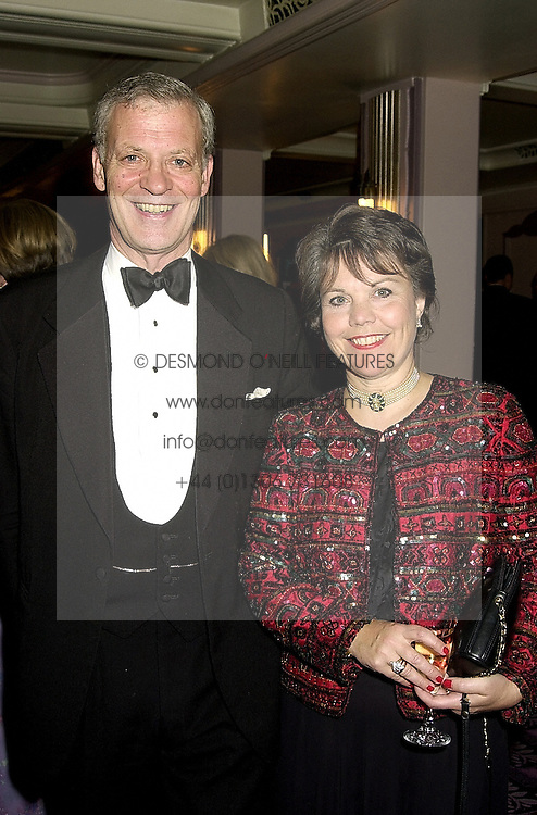 LORD & LADY STRATHALMOND at a ball in London on 20th October 2000.OIB 31