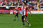 Lloyd James (4) of Exeter City during the EFL Sky Bet League 2 match between Exeter City and Cambridge United at St James' Park, Exeter, England on 5 August 2017. Photo by Graham Hunt.