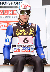 Einar Bjoern Romoeren (NOR) during Trial round of the FIS Ski Jumping World Cup event of the 58th Four Hills ski jumping tournament, on January 6, 2010 in Bischofshofen, Austria. (Photo by Vid Ponikvar / Sportida)
