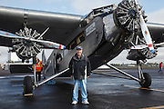 Ford Trimotor at McNary Field.