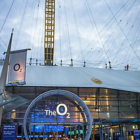 The O2 Arena is a large venue in central London England