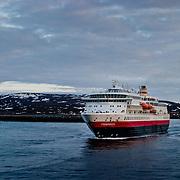 Three weeks aboard the Kong Harald. Hurtigruten, the Coastal Express. The Finnmarken.