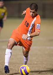 Virginia Cavaliers F Nino DiMaggio (19)..The #4 ranked Virginia Cavaliers men's soccer team defeated the Mount Saint Mary's Mountaineers 3-0 at Klockner Stadium in Charlottesville, VA on September 25, 2007.