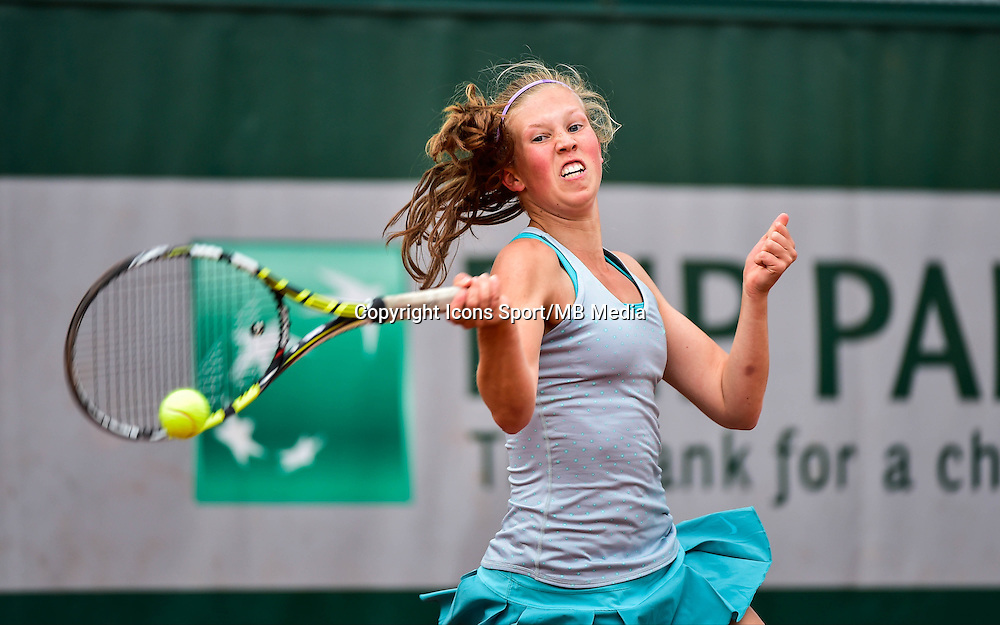 Emily ARBUTHNOTT - 02.06.2015 - Jour 10 -Roland Garros 2015<br /> Photo : David Winter / Icon Sport