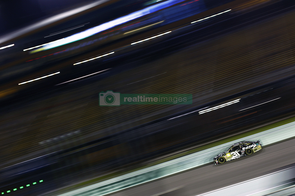 November 16, 2018 - Homestead, Florida, U.S. - Ryan Newman (31) takes to the track to qualify for the Ford 400 at Homestead-Miami Speedway in Homestead, Florida. (Credit Image: © Justin R. Noe Asp Inc/ASP)