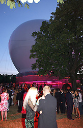 GENERAL VIEW at the Serpentine Gallery Summer party sponsored by Yves Saint Laurent held at the Serpentine Gallery, Kensington Gardens, London W2 on 11th July 2006.<br />