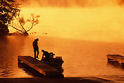 Image of two men going fishing at Claytor Lake State Park in Virginia