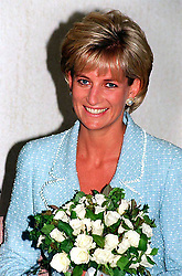 "Embargoed to 0001 Monday August 21 File photo dated 21/4/97 of Diana, Princess of Wales, whose warmth, compassion and empathy for those she met earned her the description the ""people's princess""."