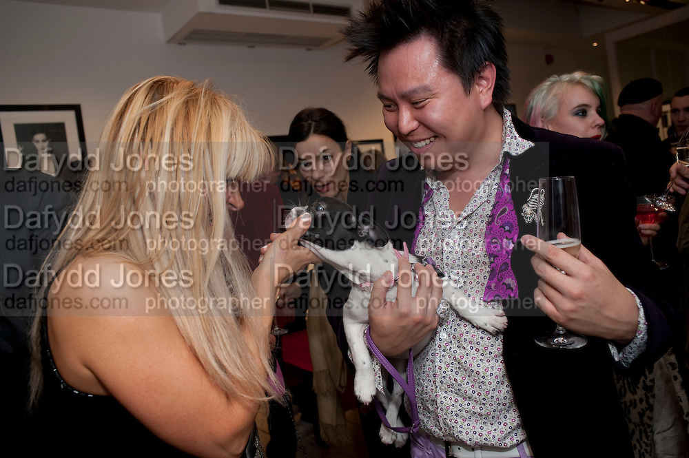 CONSTANSIA GOTSOPOULOU; JIMMY HO; LAYLA ROSE Exhibition of photographs by Ellen von Unworth. Michael Hoppen Gallery. Jubilee Place, Chelsea. London. 22 October 2009.
