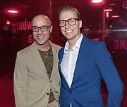 2018, September 24. Schouwburg Amstelveen. Premiere van Kunst en Kitsch. Op de foto: Stanley Burleson en Marcel Visscher