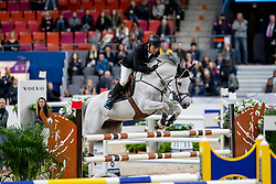 GULLIKSEN Geir (NOR), Gin Chin van het Lindenhof<br /> Göteborg - Gothenburg Horse Show 2019 <br /> Int. jumping competition presented by Volvo<br /> Against the clock (1.40 m)<br /> Longines FEI Jumping World Cup™ Final and FEI Dressage World Cup™ Final<br /> 03. April 2019<br /> © www.sportfotos-lafrentz.de/Stefan Lafrentz