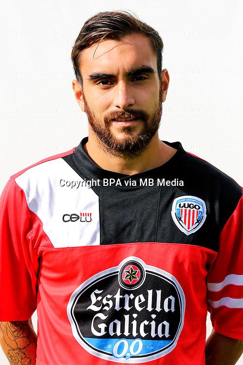 Spain - La Liga Adelante 2014-2015 / <br /> ( C.D. Lugo ) - <br /> Samuel de los Reyes Dominguez