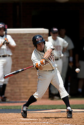 Oregon State Beavers OF Braden Wells (9) in an at bat against Virginia.  Wells was 2 for 4 in the game asThe Oregon State Beavers defeated the Virginia Cavaliers 7-3 in Game 7 of the NCAA World Series Charlottesville Regional held at Davenport Field in Charlottesville, VA on June 5, 2007.  With the win, the Beavers advance to the NCAA Super Regional.