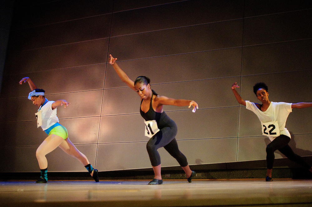 (photo by Matt Roth).Friday, June 18, 2010..Inertia Performing Arts' Spring Concert at MICA's Falvey Hall in the Brown Center...Fame, Movement Foundations, T1, T2, T3