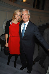 SIR RONALD & LADY COHEN at a party to celebrate the publication of 101 World Heroes by Simon Sebag-Montefiore at The Savile Club, 69 Brook Street, London W1 on 9th October 2007.<br /><br />NON EXCLUSIVE - WORLD RIGHTS