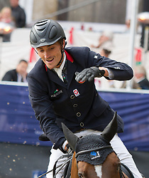 23.09.2012, Rathausplatz, Wien, AUT, Global Champions Tour, Vienna Masters, Grosser Preis, im Bild Stefan Eder (AUT) auf Concordija// during Vienna Masters of Global Champions Tour, Grand Prix at the Rathausplatz, Vienna, Austria on 2012/09/23. EXPA Pictures © 2012, PhotoCredit: EXPA/ Sebastian Pucher