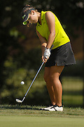 Maria Jose Uribe during the semifinals of the U.S. Women's Amateur at Crooked Stick Golf Club on Aug. 11, 2007 in Carmel, Ind.    ...©2007 Scott A. Miller