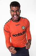 Forest Green Rovers goalkeeper Robert Sanchez during the 2018/19 official team photocall for Forest Green Rovers at the New Lawn, Forest Green, United Kingdom on 30 July 2018. Picture by Shane Healey.