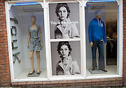 This is the woman, fcuk shop, Colchester, Essex