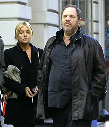 Sienna Miller leaves trendy Japanese restaurant 'Nobu' after a business lunch with movie mogul Harvey Weinstein in New York City, NY, USA on December 5, 2006. Photo by Frank Ross/ABACAPRESS.COM  | 111338_01