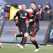 NEW YORK, NEW YORK - March 12:  Steve Birnbaum #15 of D.C. United in action during the NYCFC Vs D.C. United regular season MLS game at Yankee Stadium on March 12, 2017 in New York City. (Photo by Tim Clayton/Corbis via Getty Images)
