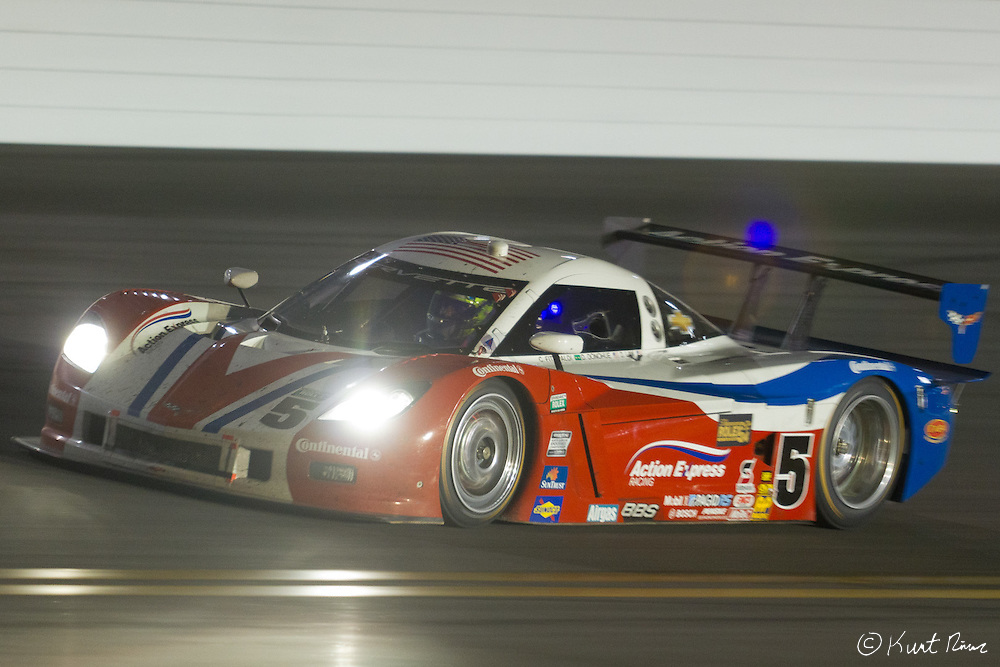 during the Rolex 24 Hour Race at Daytona International Speedway on January 28, 2012 (Kurt Rivers/KnightNews.com)