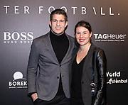 2018, November 01. SugarCity, Amsterdam. Life After Football Fahsion Player 2018. Op de foto: Carlos Platier Luna