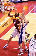 DESCRIZIONE : Milano Coppa Italia Final Eight 2013 Ottavi di Finale Pallacanestro Cantu' Acea Roma<br /> GIOCATORE : Gani Lawal<br /> CATEGORIA : tiro<br /> SQUADRA : Acea Roma<br /> EVENTO : Beko Coppa Italia Final Eight 2013<br /> GARA : Pallacanestro Cantu' Acea Roma<br /> DATA : 07/02/2013<br /> SPORT : Pallacanestro<br /> AUTORE : Agenzia Ciamillo-Castoria/A.Giberti<br /> Galleria : Lega Basket Final Eight Coppa Italia 2013<br /> Fotonotizia : Milano Coppa Italia Final Eight 2013 Ottavi di Finale Pallacanestro Cantu' Acea Roma<br /> Predefinita :