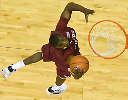 Florida State forward Uche Echefu (41) grabs a rebound in action against UVA.  The Virginia Cavaliers fell to the Florida State Seminoles 73-62 in NCAA Basketball at the John Paul Jones Arena on the Grounds of the University of Virginia in Charlottesville, VA on January 24, 2009.